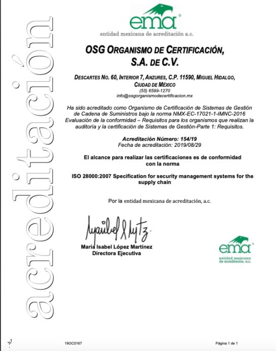 Anexo No 154-19 acreditación en SGCS 29-08-19