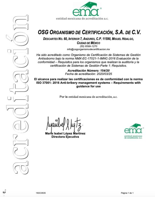 Anexo No 154-20 acreditación en SGAS 25-03-19